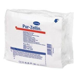 Pur-Zellin, 4 x 5cm, Tiefziehpackung 500 Stück