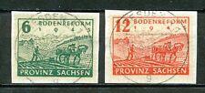 Duitsland, Provinz Sachsen,  90 - 91 gebruikt op papier