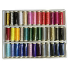 200yds Home DIY Multifunction Polyster Threads Sewing Machine Achine 39 Colors