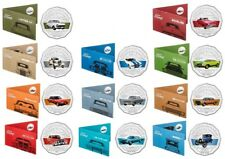 2017 SET 11 50c FORD HERITAGE COINS FALCON GTHO ZH COBRA GTHO CORTINA MODEL 40