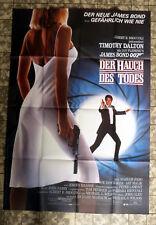 JAMES BOND 007 * LIVING DAYLIGHTS - FILMPOSTER German 2-Sheet ´87 TIMOTHY DALTON