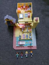 New Listing1993 Polly Pocket Schoolhouse with Hoop and Working Lights Vintage Bluebird