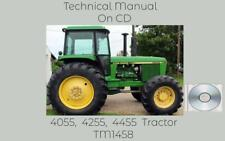 John Deere 4055 4255 4455 Tractor Service Repair Technical Manual Tm1458 On Cd