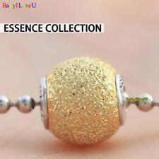 S925 Sterling Silver Essence Collection SENSITIVITY Gold Charm Bead Fit Bracelet