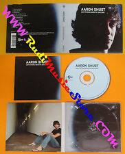 CD AARON SHUST Anything Worth Saying 2005 BRASH  DIGIPACK no lp mc dvd (CS52)