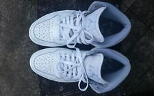 Authentic Nike Jordan 1 mid all white size 8.5 US