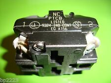 MICRO SWITCH PTCB CONTACT BLOCK 1-NO, 1-NC, FOR USE WITH PT & CMC OPERATORS, NEW