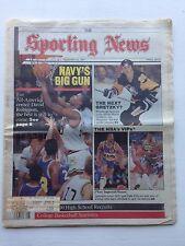 Sporting News David Robinson Mario Lemieux Feb. 23, 1987 very sharp no creases