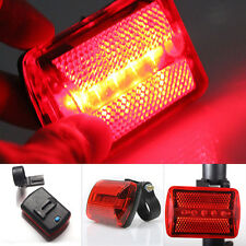 5Led Plastic Tail Rear Safety Flash Light Lamp Red For Bicycle Bike Cycling New