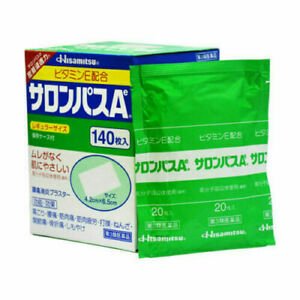 Hisamitsu SALONPAS Ae Pain Relieving Patches Packs or Box Made in Japan+Tracking