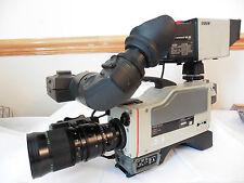 Sony DXC-3000P Camcorder PROFESSIONAL 3CCD BROADCASTING VIDEO CAMERA + FUJI LENS
