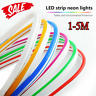 5m LED Strip 12V Neon Flex Rope Light Waterproof Flexible Outdoor Lighting SZ