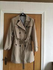 Size 22 -!Ladies Trench Coat/Mac style lightweight cotton summmer coat