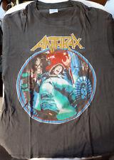 "Anthrax - ""Spreading the Disease Tour"" original vintage t-shirt"