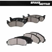 Front & Rear Ceramic Brake Pads 2002 2003 2004 2005 Ford Explorer Mountaineer