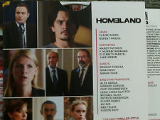 HOMELAND: EMMY 2017 2 DVD SETS, 4 BEST EPISODES OF SEASON 6 INCLUDING 2 LAST EPS