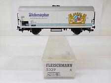 MES-54560Fleischmann 5329 H0 Kühlwagen DB Weihenstephan sehr guter Zustand,