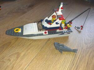LEGO FISHING BOAT/SHARK/FIGURES