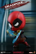 Hot Toys Deadpool Cosbaby Figurine 4in. COSB507 Bullet Deflecting Collection