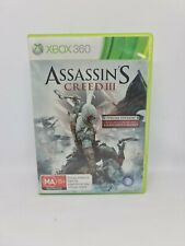 ASSASSIN'S CREED III Special Edition XBOX Complete PAL VGC Free Tracked Shipping
