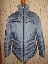 Damenjacke Smog Gr. M Anorak silbergrau dicke Winterjacke getragen Polyester