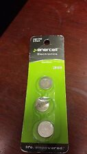Enercell Electronics CR1616 3V Lithium Coin Cells 3-Pack Replaces DL1616,ECR1616