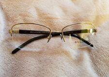 6ae38fc3f1 NEW Brown Bulgari Semi-Rimless Optical Glasses