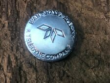 Teledyne Wah Chang Albany Oregon Zirconium token coin A Nuclear Age Metal