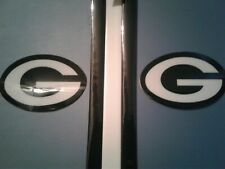 Green Bay Packers football helmet decals set