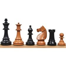 """1920's German Collectors' Chess Pieces Only staunton set- Antique Boxwood- 4.1"""""""