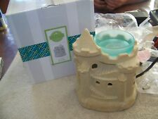 SCENTSY ~ Summer SandCastle~ Wax/Oil Warmer ~ New Old Stock