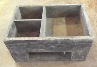 Ancienne boîte d'établie vintage deco industriel cave bistro caisse magasin