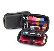 Black EVA Travel GPS Camera Case Diabetic Organizer Diabetes Bag Cable Pouch