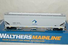 HO Walthers Archer-Daniels-Midland 60' NSC grain covered hopper car train 52279