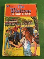 THE WALTONS UP SHE RISES! Vintage 1975 Whitman by Gladys Baker Bond, Hardcover