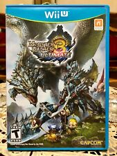 Nintendo Wii U Game Monster Hunter 3 Ultimate (Super Low Price!)