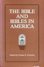 The Bible and Bibles in America (Society of Biblical Literature, Vol 1)