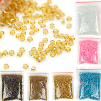 1200pcs Lots 2mm Glass Beads Seed Pearls Round Spacer For Jewelry Making DIY New