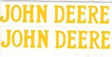 3 hp John Deere Gas Engine Motor 2 Piece Decal Set Hit & Miss Flywheel Antique