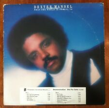 DEXTER WANSEL What The World Is Coming To WHITE LABEL PROMO! LP