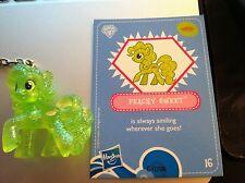 My Little Pony Friendship is Magic Glitter Peachy Sweet Keychain! Custom!