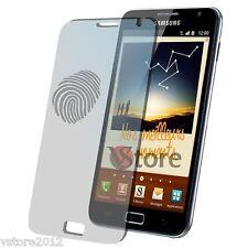 4 Pellicola Opaca Per Samsung N7000 Galaxy Note Antiriflesso Antimpronta N 7000
