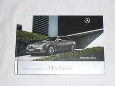 Prospekt Brochure Mercedes CLS-Klasse C219 CLS 280 320 CDI 350 CGI 500 63 AMG 08