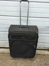 SAMSONITE LARGE LIGHTWEIGHT SUITCASE LUGGAGE 75CM BLACK USED