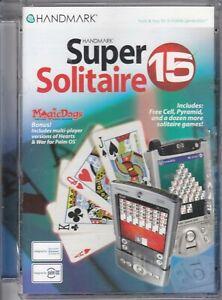 Handmark Super Solitaire 15 - Palm OS Device & Windows Pocket PC