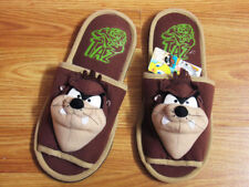 Looney Tunes Taz Tasmanian Plush Doll Toys Indoor Slippers Fancy Shoe One Size