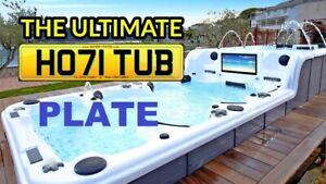 HOT TUB, HO71 TUB, SPA, GYM, SAUNA, Private Plate, Cherished Numbers, Reg
