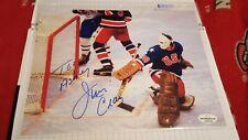"""Jim Craig 8""""x10"""" Autographed Photo (With COA)Team USA (1980)"""