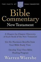 New Testament Bible Commentary, Paperback by Wiersbe, Warren W., Brand New, F...