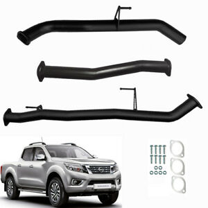 """NISSAN NP300 NAVARA D23 TD 2014 ONWARDS 3"""" INCH DPF BACK EXHAUST WITH PIPE ONLY"""